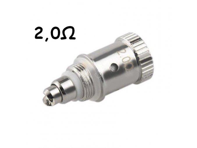 Clearomizér GS-H2S - vyměnitelná hlava 2,0ohm