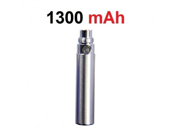 Baterie eGo 1300mAh - nerezová