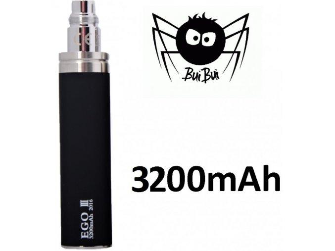 Baterie eGo 3200mAh - černá