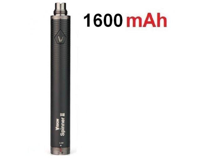 Baterie Vision Spinner II 1600mAh černá