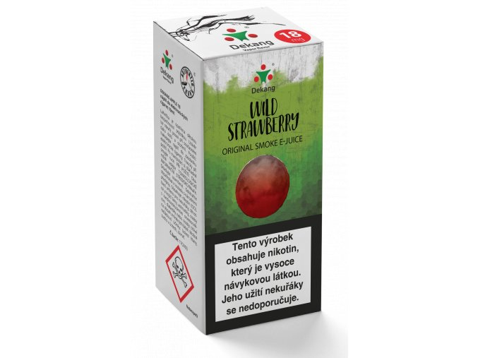 e liquid dekang 10ml wild strawberry lesni jahoda
