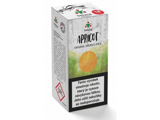e liquid dekang apricot 10ml merunka