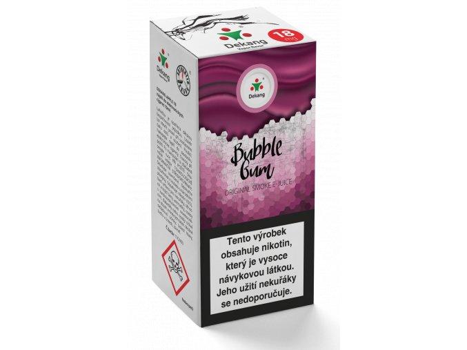 e liquid dekang menthol bubble gum 10ml mentolova zvykacka