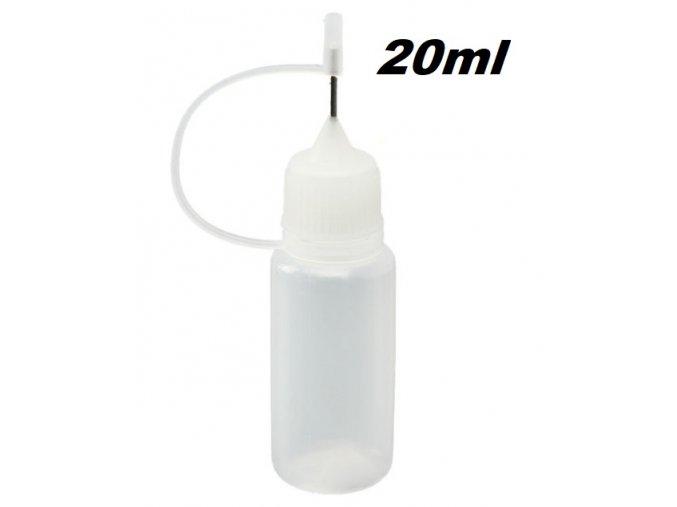 plnici lahvicka 20ml pro michani e liquidu mekka s jehlou