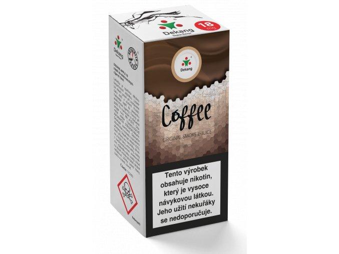 e liquid dekang 10ml coffee kava