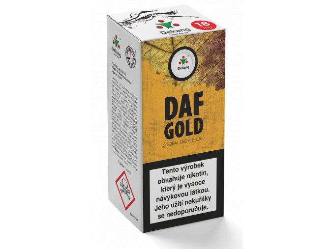 e liquid dekang 10ml daf doff gold
