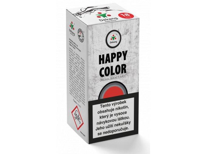 e liquid dekang 10ml happy color