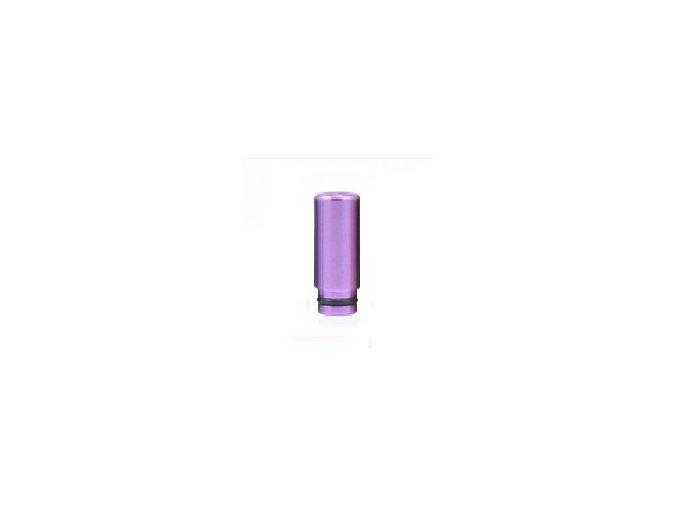 plastovy naustek 510 metalicky valec tmave fialovy