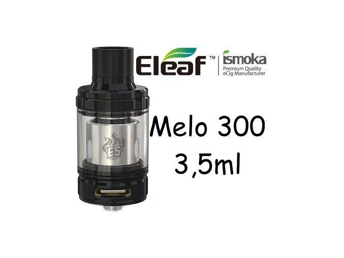 ismoka eleaf melo 300 clearomizer 35ml cerny