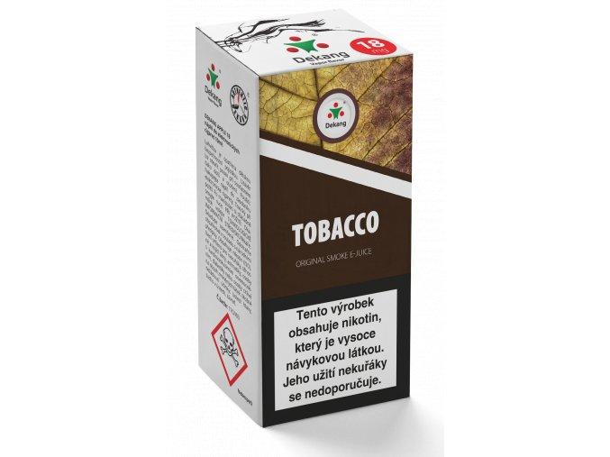 e liquid dekang 10ml tobacco tabak