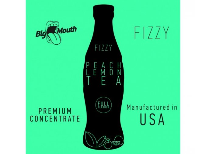 prichut aroma na michani do baze big mouth fizzy 10ml peach lemon tea