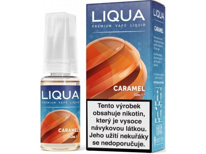 liqua e liquid elements caramel 10ml karamel