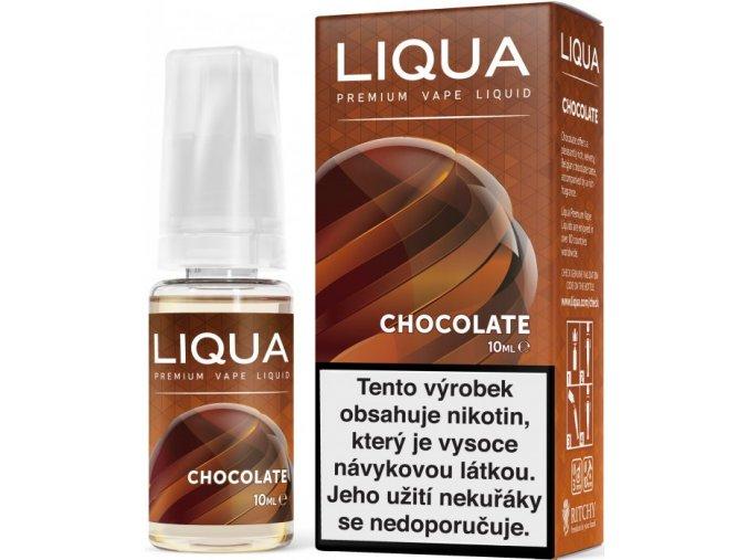 liqua e liquid elements chocolate 10ml cokolada