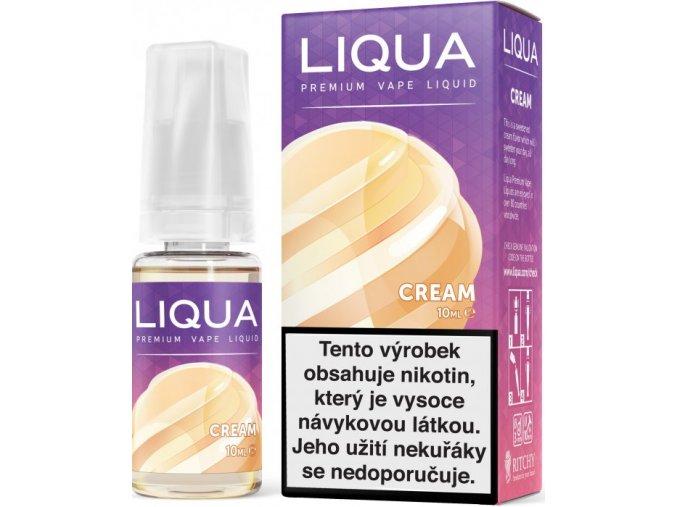 liqua e liquid elements cream 10ml smetana