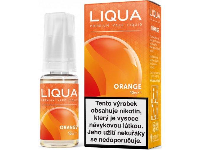 liqua e liquid elements orange 10ml pomeranc