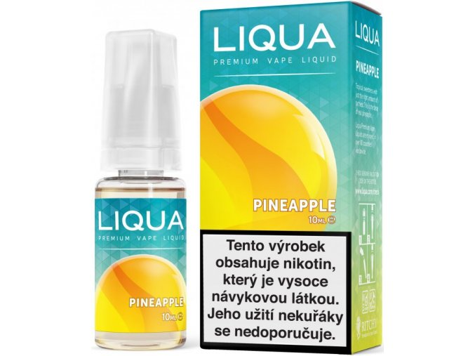 liqua e liquid elements pineapple 10ml ananas