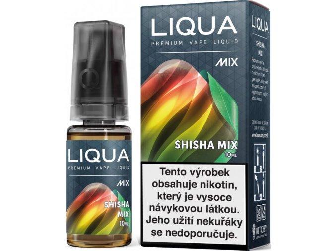 e liquid liqua mix shisha mix 10ml vodni dymka