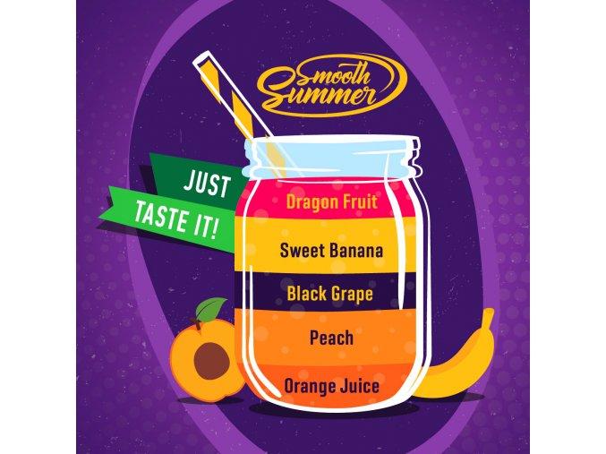 prichut aroma big mouth smooth summer hroznove vino a banan