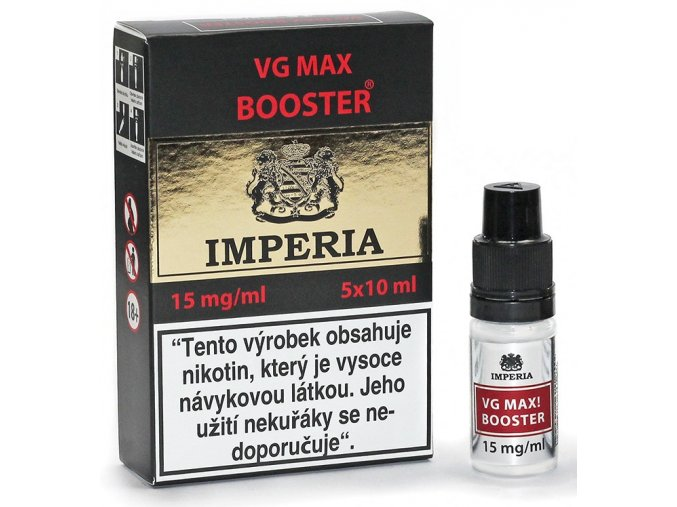 baze imperia vg max booster 15mg 5ks 5x10ml