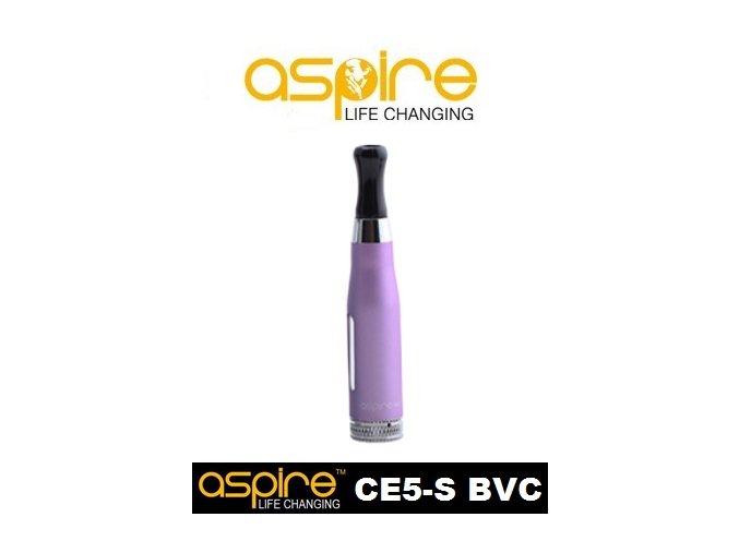 aspire ce5 s bvc clearomizer fialova fialovy