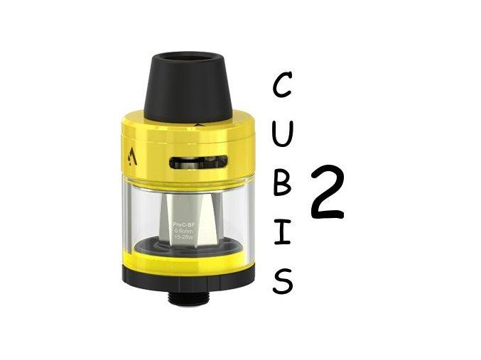 joyetech cubis 2 clearomizer 2ml yellow zluty