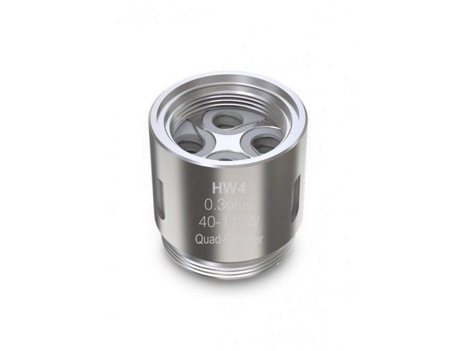 ismoka eleaf hw4 quad cylinder zhavici hlava 03ohm
