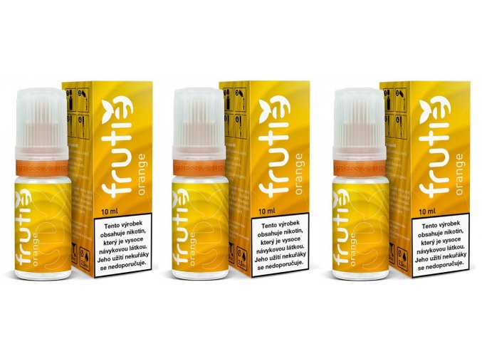 e liquid frutie 30ml 3x10ml pg30 vg70 pomeranc orange