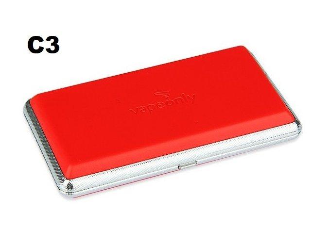 vapeonly pouzdro tabaterka pro elektronicke cigarety c3 cervena