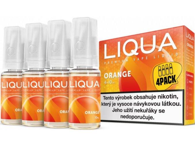 e liquid liqua elements 4pack orange 4x10ml pomeranc