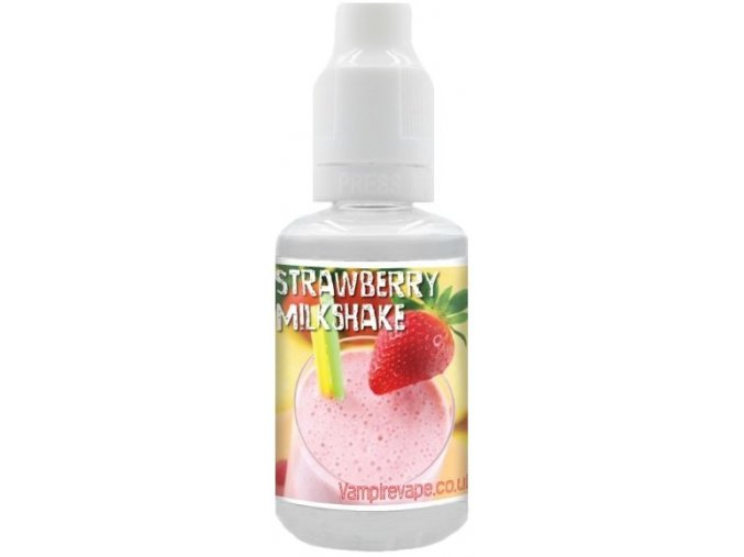 prichut aroma vampire vape 30ml strawberry milkshake