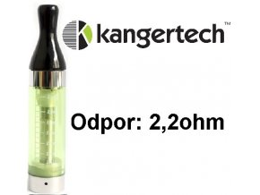 kangertech cct2 clearomizer 24ml 22ohm green zeleny