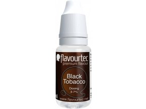 prichut flavourtec black tobacco 10ml cerny tabak