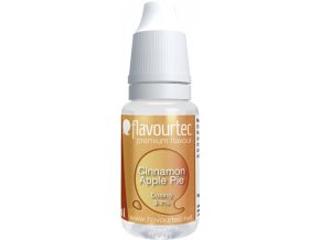 prichut flavourtec cinnamon apple pie 10ml jablecny kolac se skorici