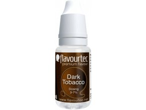 prichut flavourtec dark tobacco 10ml tmavy tabak