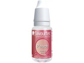 prichut flavourtec peach 10ml broskev