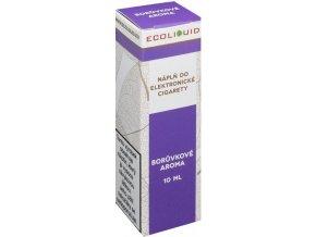 e liquid ecoliquid blueberry 10ml boruvka