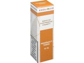 e liquid ecoliquid gingerbread tobacco 10ml pernikovy tabak