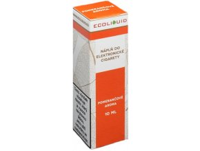 e liquid ecoliquid orange 10ml pomeranc