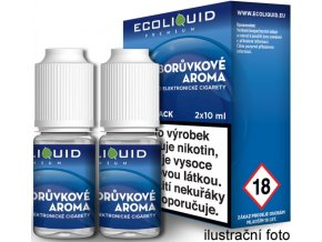 e liquid ecoliquid premium 2pack blueberry 2x10ml boruvka