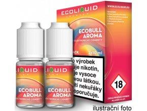 e liquid ecoliquid premium 2pack ecobull 2x10ml energeticky napoj