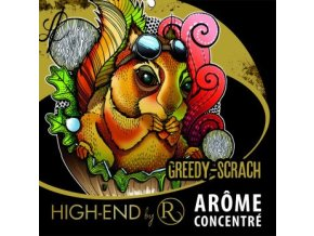prichut aroma revolute high end 10ml greedy scrach