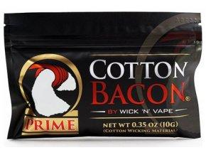 wick n vape cotton bacon prime organicka bavlna vata