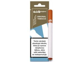 nick one original jednorazova elektronicka cigareta original tobacco tabak 16mg