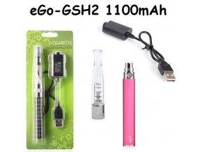 blistr gs h2 1100mah elektronicka cigareta ruzova pink