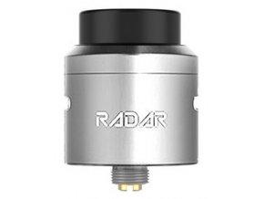 geekvape radar rda clearomizer silver stribrny