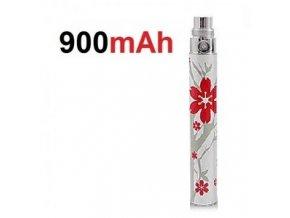 baterie ego battery cervena kvetinka 900mah
