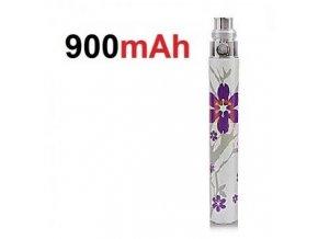 baterie ego battery fialova kvetinka 900mah