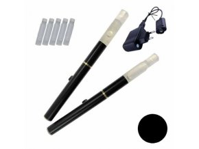 Elektronická cigareta 510-T 180mAh černá, manual, 2ks