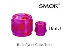 nahradni pyrexove sklo sklicko a naustek resin tfv12 prince 8ml fialove purple