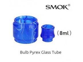 nahradni pyrexove sklo sklicko a naustek resin tfv12 prince 8ml modre blue
